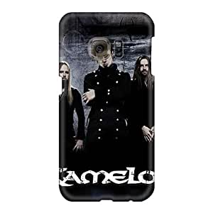 JamieBratt Samsung Galaxy S6 Bumper Hard Phone Case Unique Design High-definition Kamelot Band Series [kRo19459Ravj]