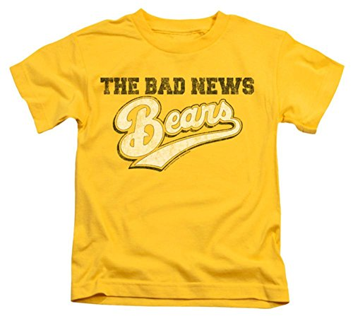 Juvenile: The Bad News Bears - Logo Kids T-Shirt Size 5/6