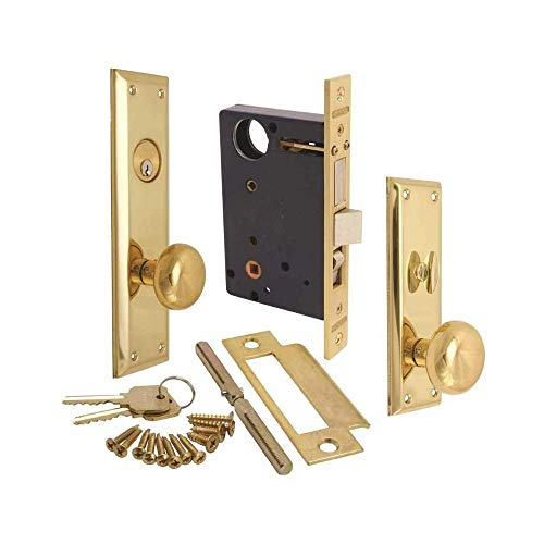 Marks Hardware 91A-LH Marks Mortise Lock, Left Hand, 4.2