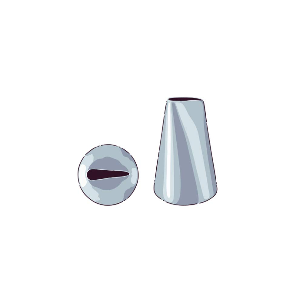 Restaurantware RWT0395 Pastry Piping Tip One Size Stainless Steel