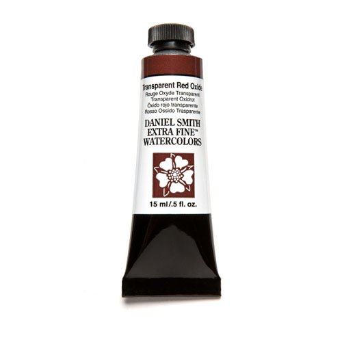 Daniel Smith Extra Fine Watercolor 15ml Paint Tube, Transparent Red - Transparent Red