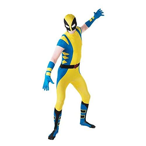 Rubie's Costume Men's Marvel Universe Wolverine Adult 2Nd Skin Costume, Multi, Medium - Uk Blue Spiderman Costume
