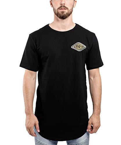 Blackskies Longline T-Shirt Men's Long Shirt Print BS Baseball Style Fashion