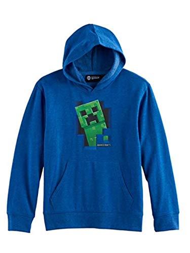 Mojang Boys Minecraft Creeper Hoodie Sweatshirt, Size