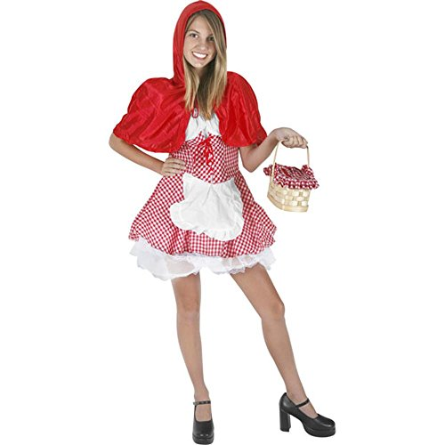 Teen Little Red Riding Hood Costumes - Fun Plus Girls Preteen Red Riding Hood Costume