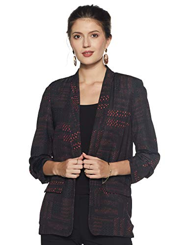 Label RITU KUMAR Collar Neck 3/4 Sleeves Jacket