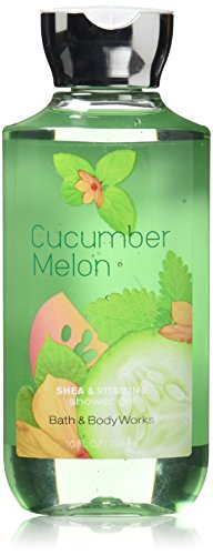 Bath & Body Works Cucumber Melon Shower Gel, 10 Ounce, Blue (Body Wash Bath And Body Works)