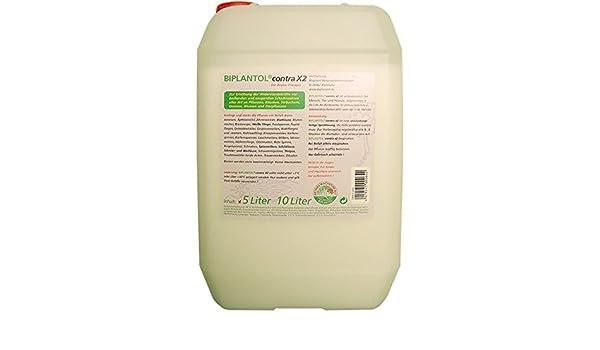 biplantol contra X2, anwendungsfertige - Spray de solución 5ltr.: Amazon.es: Jardín