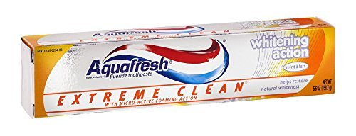 Aqua Fresh Extm White 5.6 Size 5.6z Aquafresh Extreme Clean Whitening Mint (Aquafresh White Toothpaste)