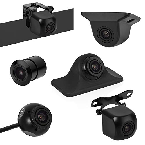 affordable BOYO VISION BOYO VTK501HD - Universal HD Backup Camera with Multiple Mounting Options (6-in-1 Camera System)