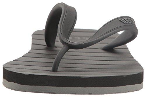 Sandalo Da Uomo In Pelle Di Scoiattolo Nero