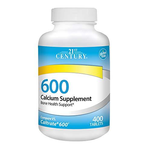 21st Century Calcium Supplement, 600 mg, 400 Count - Century 21st Tablet Vitamins