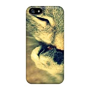 High Quality Shock Absorbing For Ipod Touch 4 Phone Case Cover -licking Hand Cat