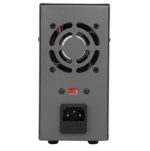 Haitronic HPS605D, adjustable switching DC Power Supply, precise variable DC 0~60V @ 0~5A OUTPUT, 3 Digital Display with Alligator Cable and Power Cord by Haitronic (Image #3)