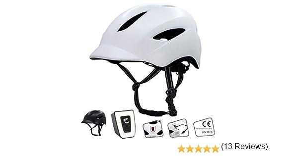 Crazy Safety Casco de Bici para Hombres, Mujeres, niños y niñas ...