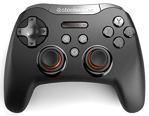 SteelSeries Stratus XL, Bluetooth Wireless Gaming Controller for Windows + Android, Samsung Gear VR, HTC Vive, and Oculus (Certified Refurbished)