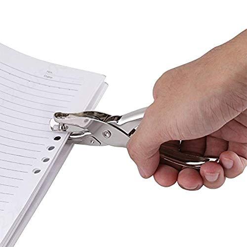 KOKO Zhu Perforadora de una Sola Mano para Manualidades Scrapbooking Ticket Marcado Circle Paper Duty Punch Tool