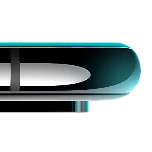 ESR iPhone 11 Pro Max/iPhone XS MAX ガラス液晶保護フィルム [3D全面フルカバー] [ 最大限保護] プレミアム強化ガラスフィルム アイホン6.5インチ (ブラック)