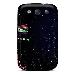 Luoxunmobile333 Perfect Cases For Galaxy S3/ Anti-scratch Protector Cases (space Invaders)