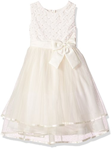 Rare Editions Girls' Toddler H389467, Ivory 6X