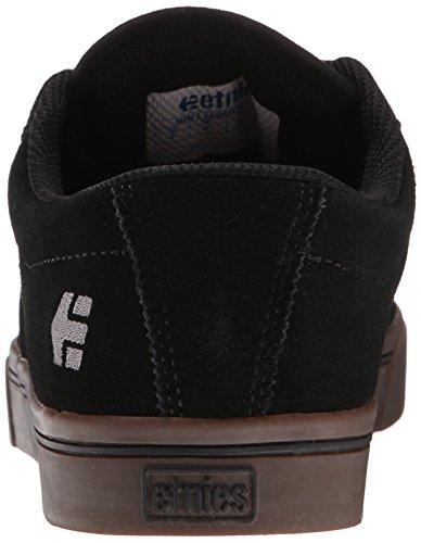 Etnies - Jameson 2 Eco Black/Black/Gum 544 Sneaker Herren Skate Grau Schwarz Skateschuh