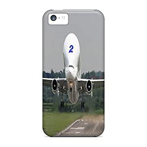Fashionable Style Case Cover Skin For Iphone 5c- Airplane Take Off