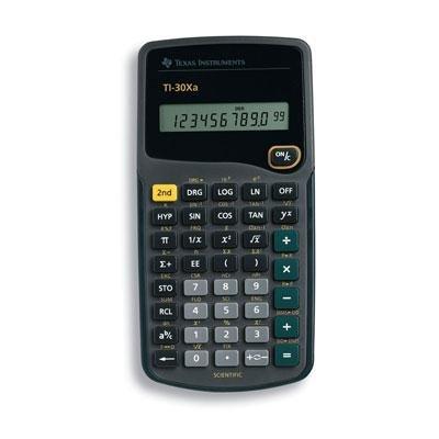 ti 30xa student scientific calculator