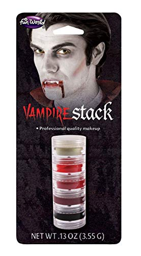 Best Vampire Makeup For Halloween (Fun World Vampire Stack)
