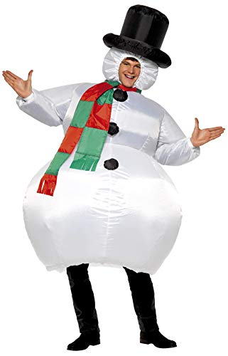 Smiffy's Inflatable Snowman Adult Costume]()