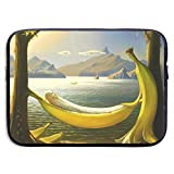 Xxh 13Inch Laptop Sleeve Case Bananas Neoprene Cover Bag Compatible IPad Pro