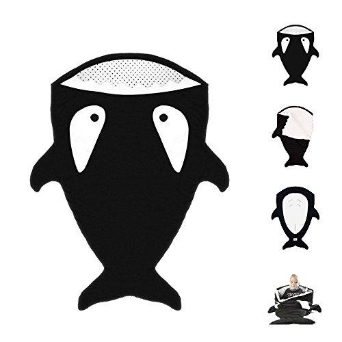 Bebeenvy-Universal-Outdoor-Stroller-Shark-shaped-Bunting-Bag