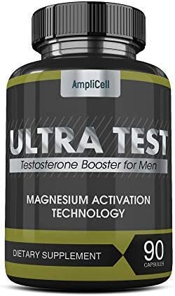Testosterone Booster for Men – Estrogen Blocker Supplement – Natural Energy Booster, Increases Stamina Strength – Lean Muscle Growth – Promotes Fat Loss- 90 Capsules