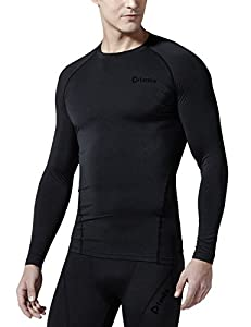 Tesla Men's Thermal Wintergear Compression Baselayer Long Sleeve Top YUD34 / R34 / RX1 / R44