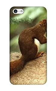 Appearance Snap-on Case Designed For Iphone 5c- Animal Squirrel(best Gifts For Lovers)