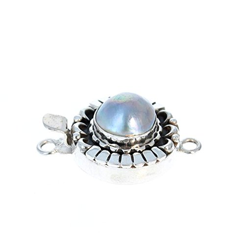 MABE PEARL CLASP Ball Design ()