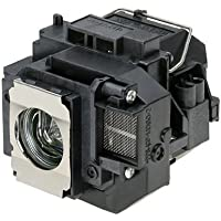 QueenYii ELPLP58 Compatible for EPSON EX7200 Replacement Projector Lamp with bulb inside
