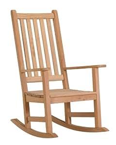 Amazon Com Oxford Garden Franklin Shorea Rocking Chair