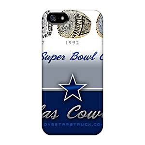 Ideal Ashustom2o68 Cases Covers For Iphone 5/5s(dallas Cowboys), Protective Stylish Cases