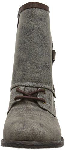 Qupid - Trevor 52 - Bottes de motard femme, marron (Brown), 37