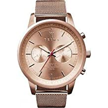 Triwa Womens NEST106 Rose Nevil Rose Gold Dial Watch