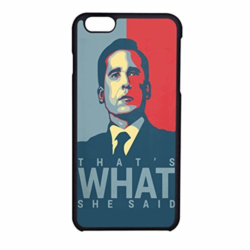 Price comparison product image That S What She Said - Michael Scott - The Office Us iPhone 6 Case / iPhone 6s Case (Black Rubber)