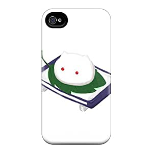 Anti-scratch And Shatterproof Muffin Head Phone Case For Iphone 4/4s/ High Quality Tpu Case