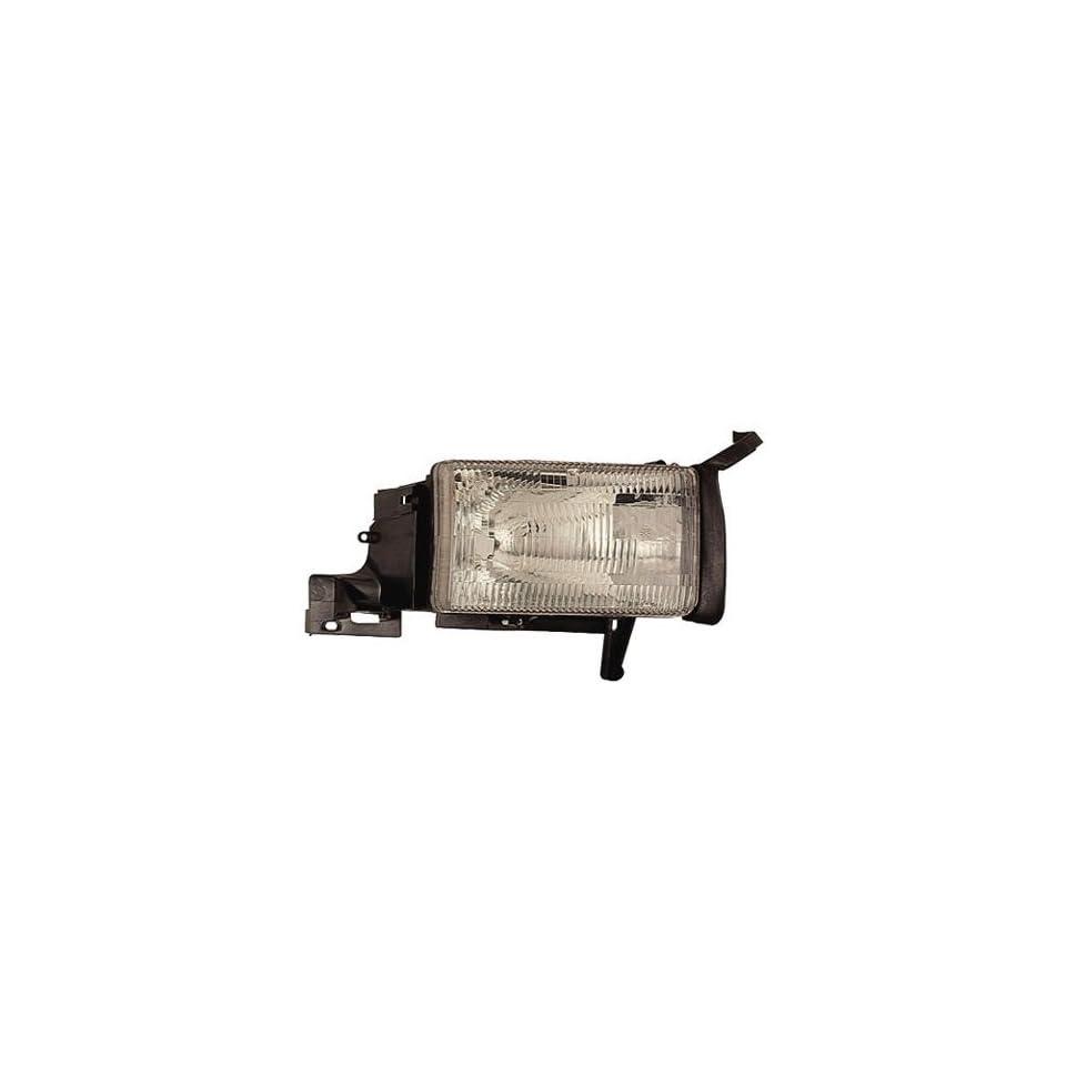 94 01 DODGE RAM PICKUP Right Headlight (W/O CORNER LAMP) (1994 94 1995 95 1996 96 1997 97 1998 98 1999 99 2000 00 2001 01) 55054780AF Headlamp Head Light Lamp RH
