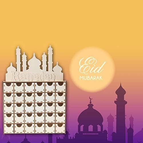 Happy Easter Peel -  AIUSD Clearance , Ramadan Happy Eid Mubarak Paper Chest Of Drawers Decor Muslim Islam Party Supply