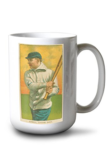 (Lantern Press Chicago White Sox - Chick Gandil - Baseball Card (15oz White Ceramic Mug))