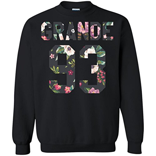 Exclusive Ariana Grande Sweatshirt, Dangerous Woman Flower Crewneck, Perfect World Tour Gift for the Arianator Fan 2XLarge (Seventeen Magazine Halloween Nails)