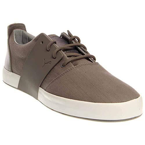 PUMA Men's EL Ace 3 Menswear Sneaker,Steel Gray/White,12 M US (Puma Shoes El Rey)