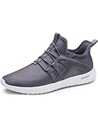 Slip-On Running Shoes Men - Lightweight Casual Sports Cushioning Sneakers