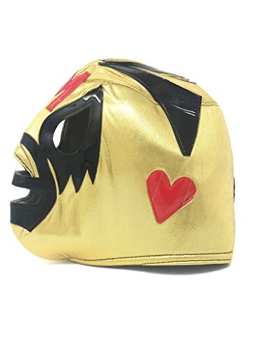 - Mexitems Authentic Luchador Masks (Pick Your Luchador) (Mil Mascaras - Gold)