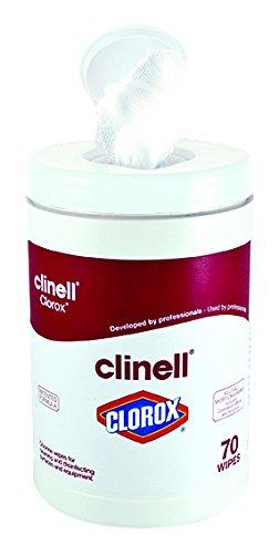 Clinell Clorox Wipes - Tub of 70 CCLX70